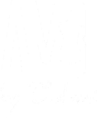AMB by Tolani bespoke fashion for boys and girls. Logo white